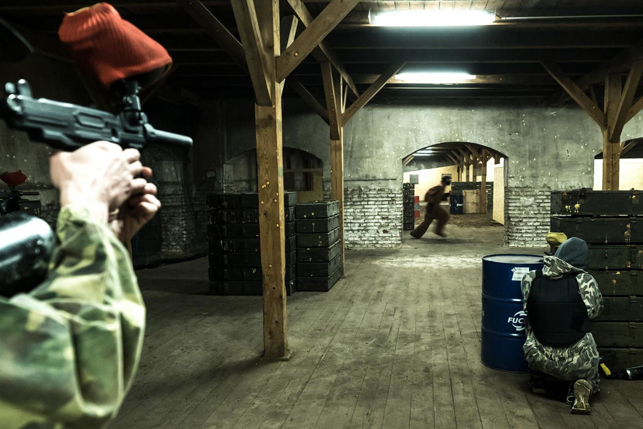 Picture of Paintball Indoor Classic 100 Balls