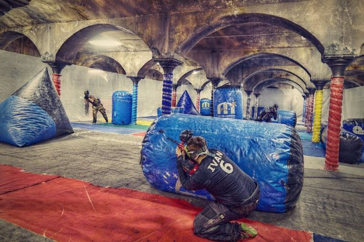 Picture of Paintball Indoor Unlimited