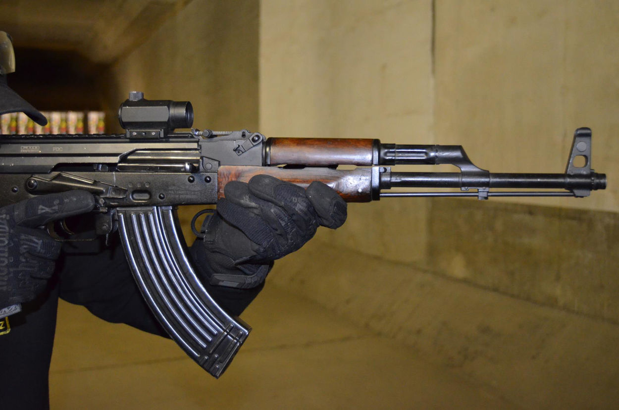 Picture of Shooting AK47