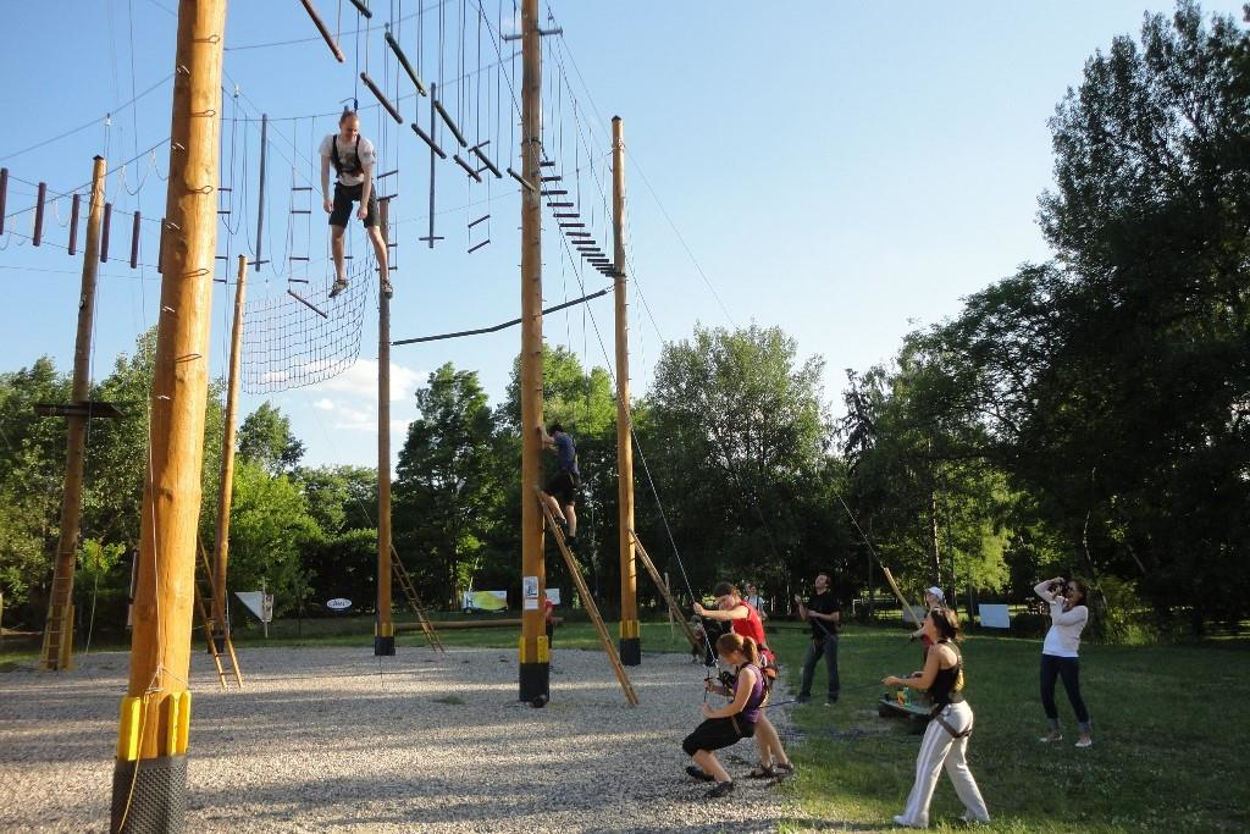 Picture of High ropes